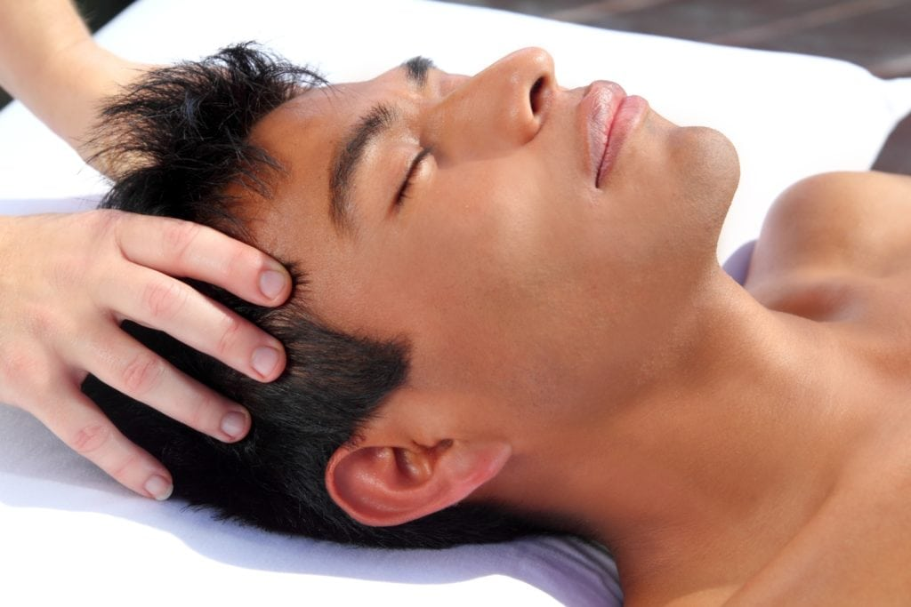 chakras head massage ancient Maya therapy central America shiatsu